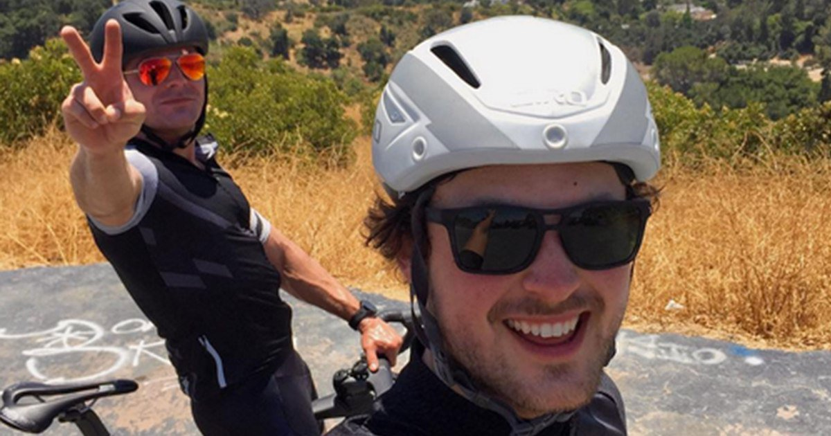 Zac Efron and His Little Brother Get in Some Bonding Time on L.A. Bike Trip