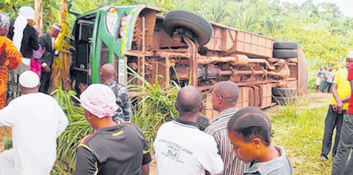 Ugandan driver on the run after Kampala bus accident