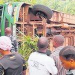 Ugandan driver on the run after Kampala bus accident