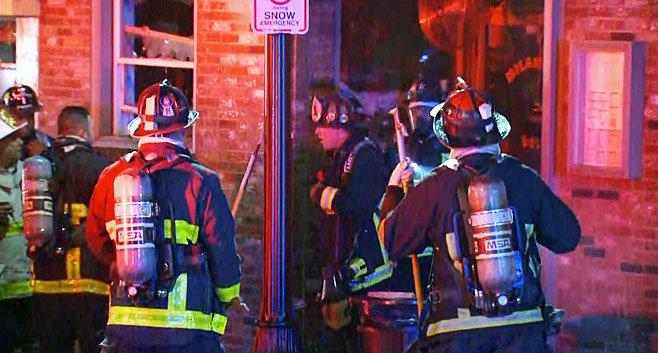 Dozens Evacuated As Crews Fight Fire In East BostonDeli