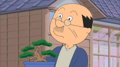 「海外で盆栽が知られてるのは、人気アニメに必ず登場するからじゃないか…」とパラダイス山元さん。確かにサザエさん、ちびまる