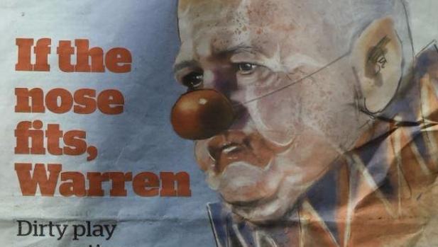 Lions tour: Warren Gatland says clown cartoon is part of personal campaign against him