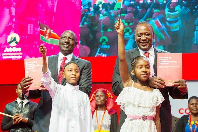 Kenyatta puts jobs, industrialisation at top of Jubilee agenda