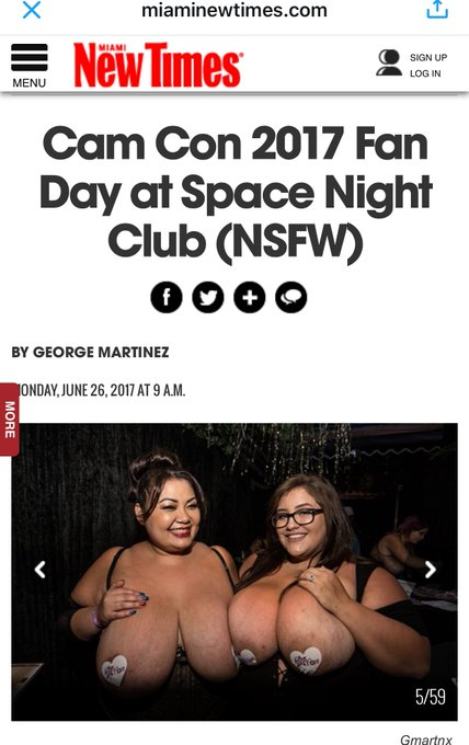 https://t.co/8PD5D8zhg2 @CamConOfficial @LingLingBBW @Kaleena_Skye #bigtits #camgirls #bbw #camcon2017