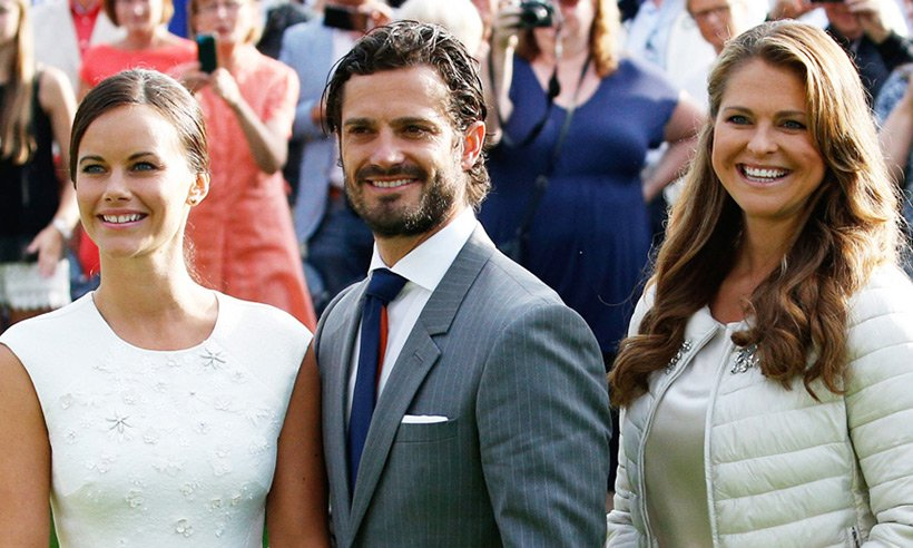 Prince Carl Philip and Princess Sofia have flocked to the South of France for a baby moon:
