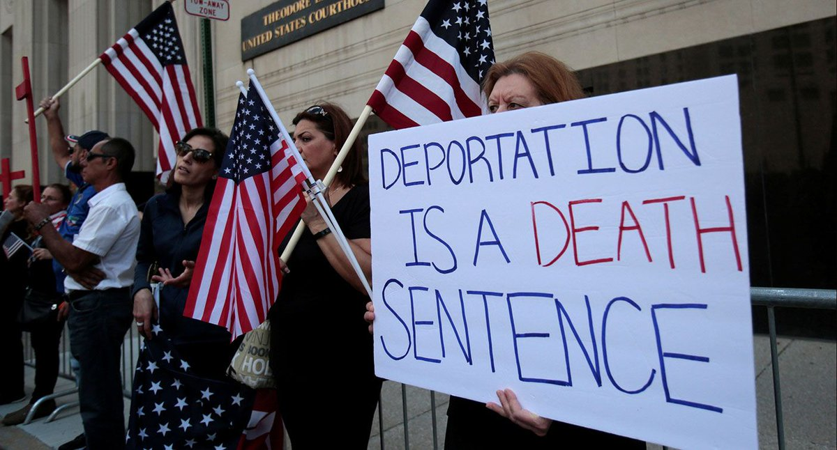 Judge suspends all Iraqi deportations in US for 2 weeks