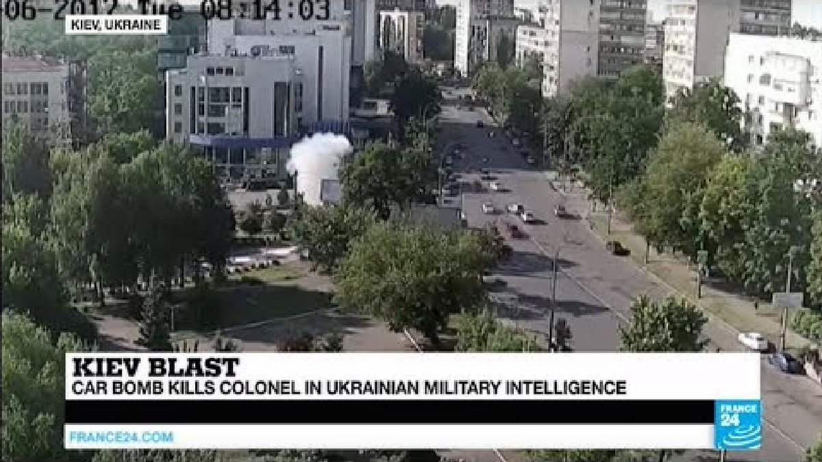 ?? Ukraine: Car bomb kills military intelligence colonel in Kiev