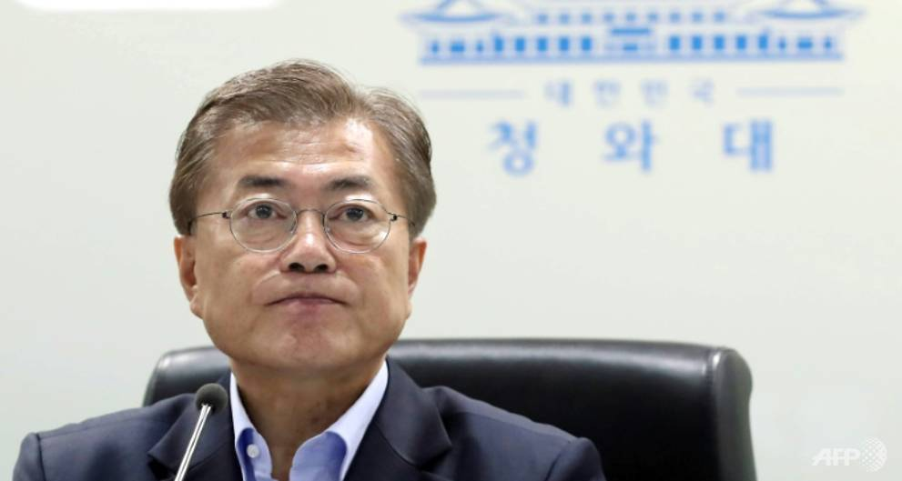 On Moon Jae-in's mind are North Korea and the dangers of America First