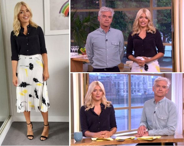 Here's how you can steal @hollywills' ThisMorning outfit on the high