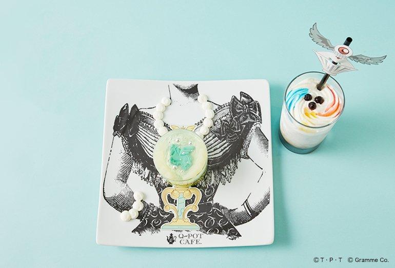 【Q-pot CAFE.×セーラームーン】☆シュクレ ドゥ レーヴ ケーキ☆キウイとマンゴー入りのクリームは夏にぴったり