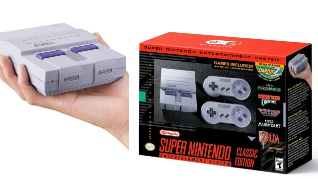 Nintendo to Release $80 SNES Classic Edition with 21 Games this September