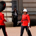 Female captain makes military history as she takes command of Changing  the Guard ceremony
