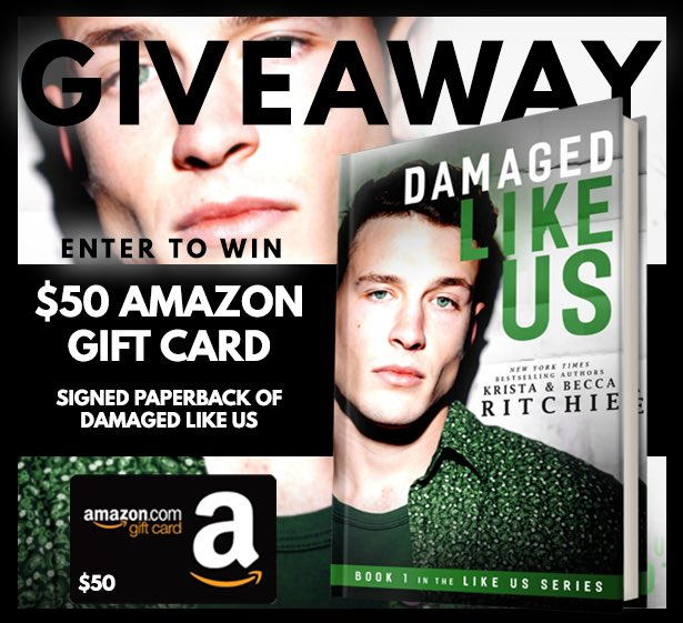 Happy Release Day! Damaged Like Us by Krista and Becca Ritchie
