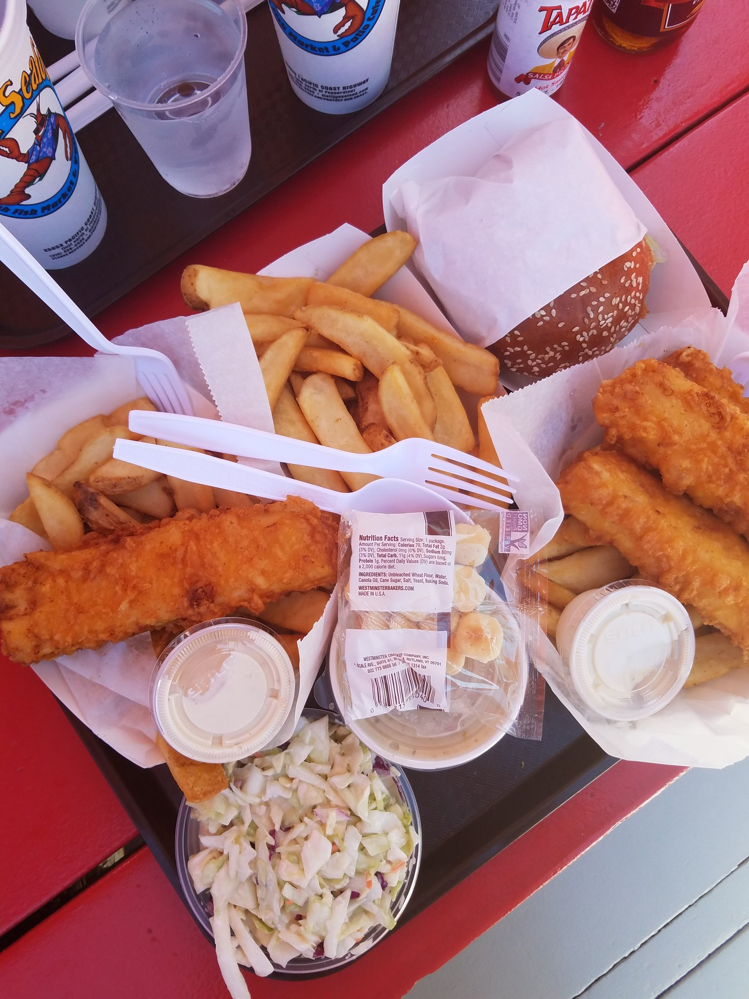 Our west coast team drove the Pacific Coast Highway and stopped at Malibu Seafood Fresh Fish Market for these goodies pre-#zagatbbqnation https://t.co/1bAisPP5Q2