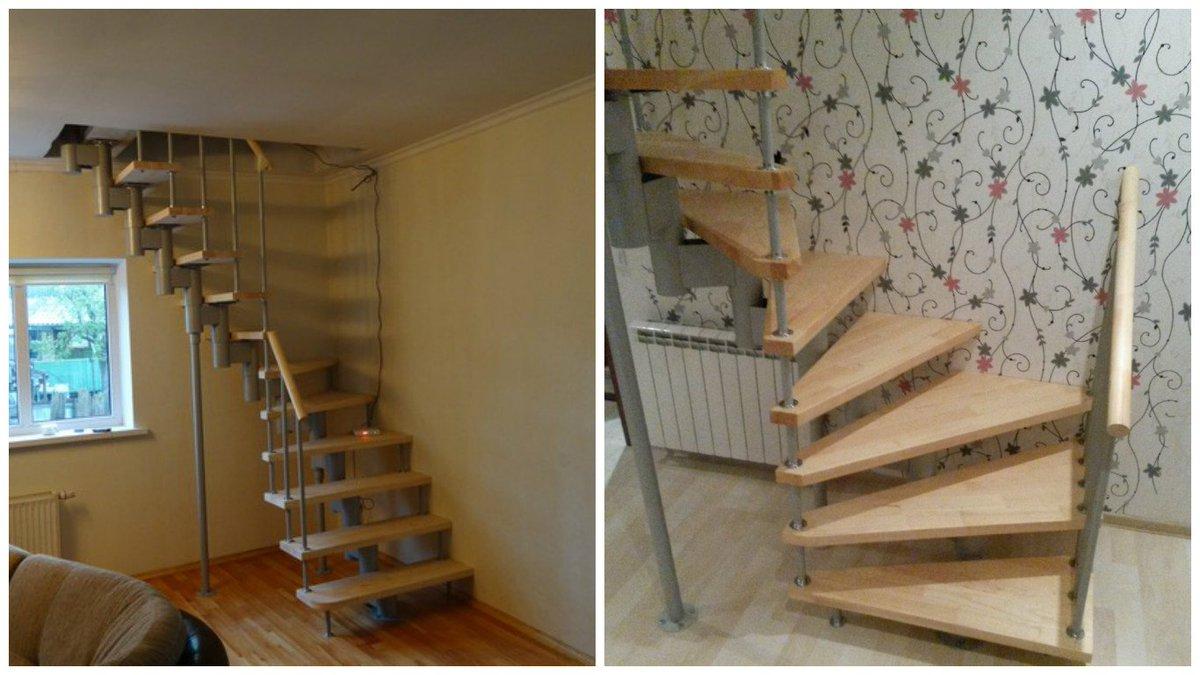 Винтовые лестницы для дома своими руками фото 26