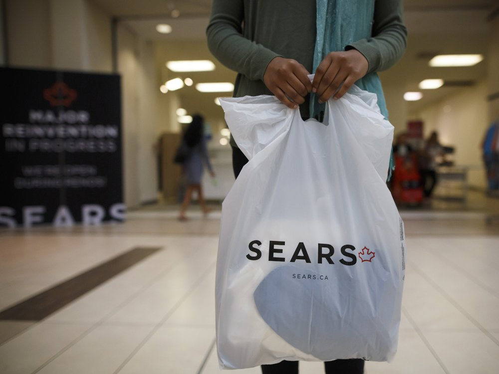 Nasdaq is delisting Sears Canada in wake of bankruptcy protection
