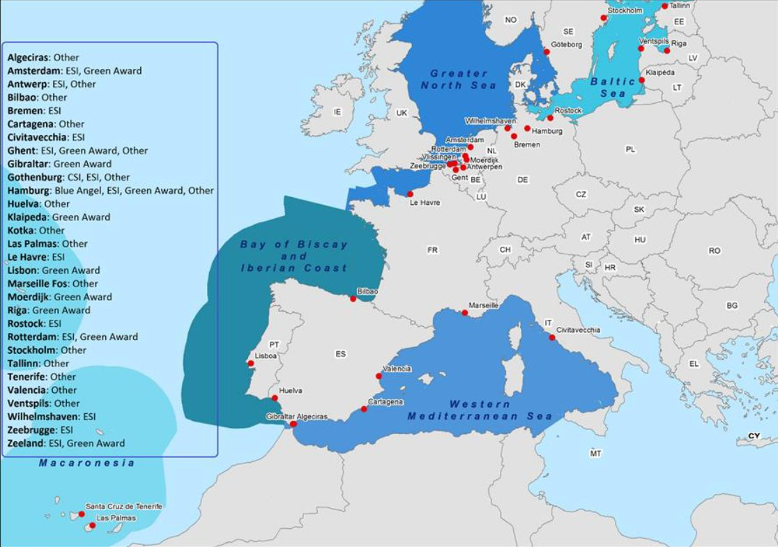 test Twitter Media - Report: At least 30 TEN-T ports apply differentiated charges for cleaner shipping! Can we do better? https://t.co/nARTRdM8VQ #EUMaritimeYear https://t.co/e3lhZWCyQD