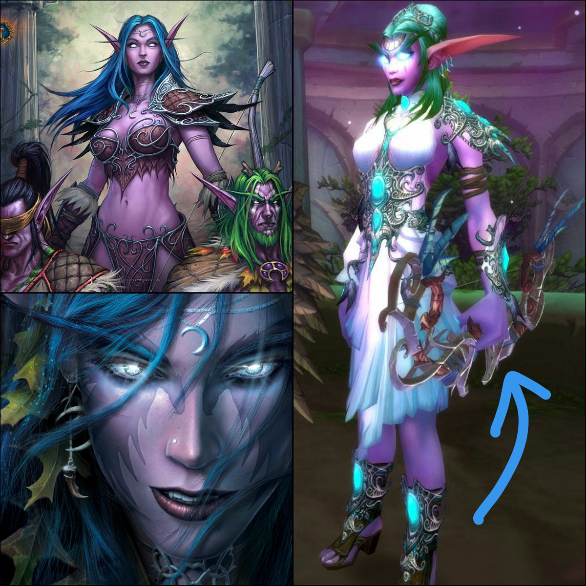 Night elf cosplay fuck nude picture