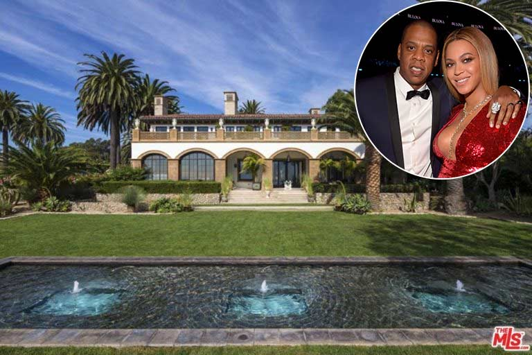 See inside the luxury Malibu mansion where @Beyonce and Jay Z are raising their twins!