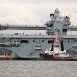 Zorgen om Brits vliegdekschip met Windows XP
