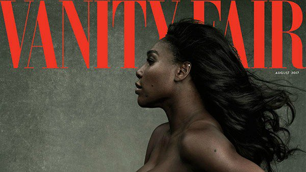 Serena Williams is posing nude for Vanity Fair with her best accessory yet: Her baby bump.