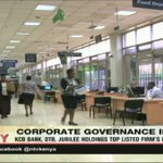 KCB Bank, DTB, Jubilee holding top listed firm's ranking