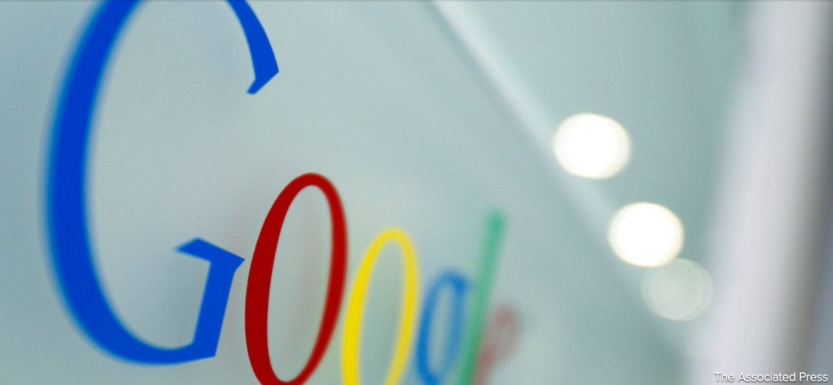 The European Union fines internet giant Google a record $2.72 billion in antitrust case.