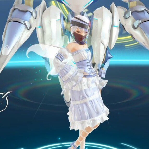 録画したのに音が入っていなかったから、せめて妖精女王の二枚翅を着けた茉莉のキャプチャだけ……。画質があんまりよくない気が
