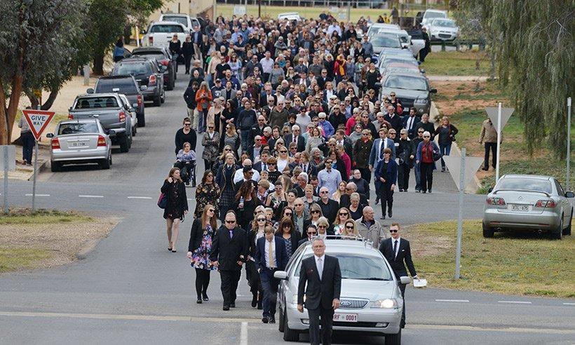 The funeral of LondonBridge terror victim Kirsty Boden has been held in Australia: