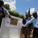 KBL, AMREF commission water projects in Kikuyu constituency | KBC TV | Kenya's Watching