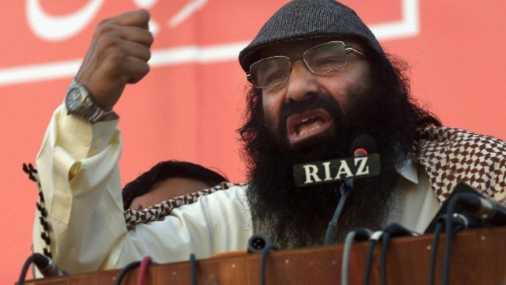 Pakistan slams US sanctions on Kashmiri militant