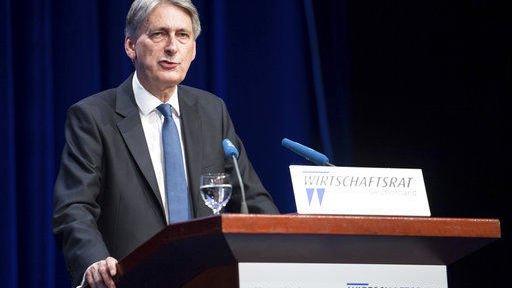 Treasury chief says UK wants economy 'anchored' in Europe