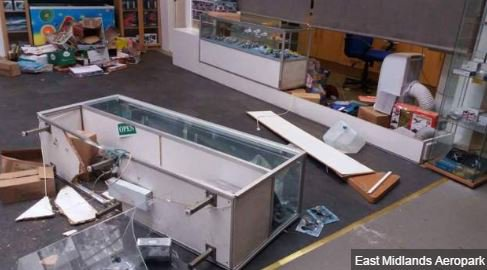 East Midlands Aeropark smashed up by burglars https://t.co/KcjJvFhPbl https://t.co/P0fuQeVfVs