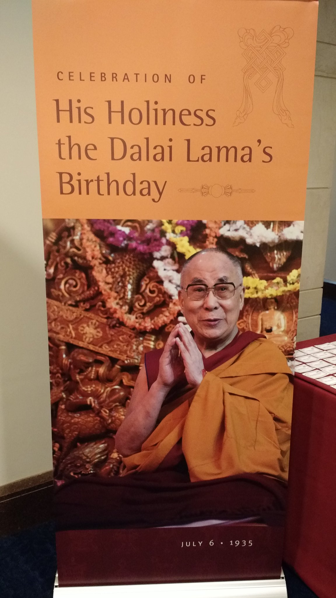 Starting soon: A celebration of the #DalaiLama's birthday in the U.S. Congress https://t.co/NuSfxgALER