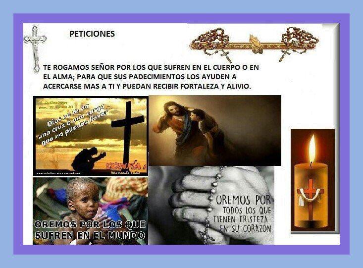 Ofrecemos este Rosario por todos los que sufren, que sientan tu abrazo y tu amor, Señor���� https://t.co/ISnE1xA1VF