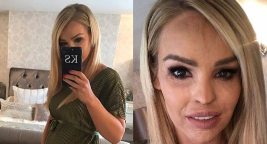 Katie Piper just gave fans a pregnancy update, and her bump has REALLY popped...