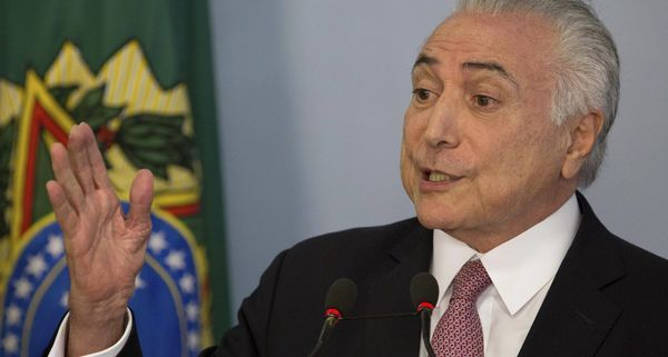 Brazil's president: Corruption charge is 'soap opera'