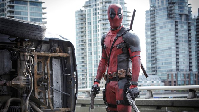 Ryan Reynolds (@VancityReynolds) shares the first photo from the set of Deadpool2.