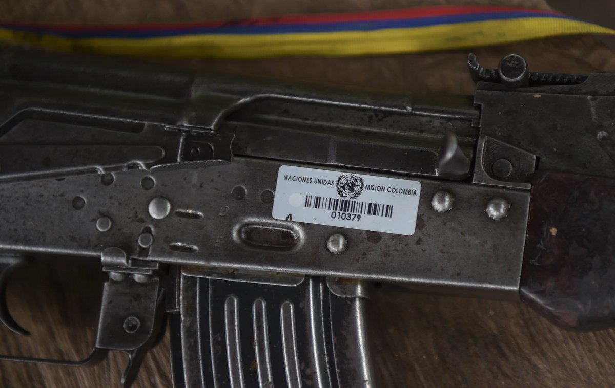 Watch Colombia celebrate a new chapter in its history as FARC rebels lay down their weapons