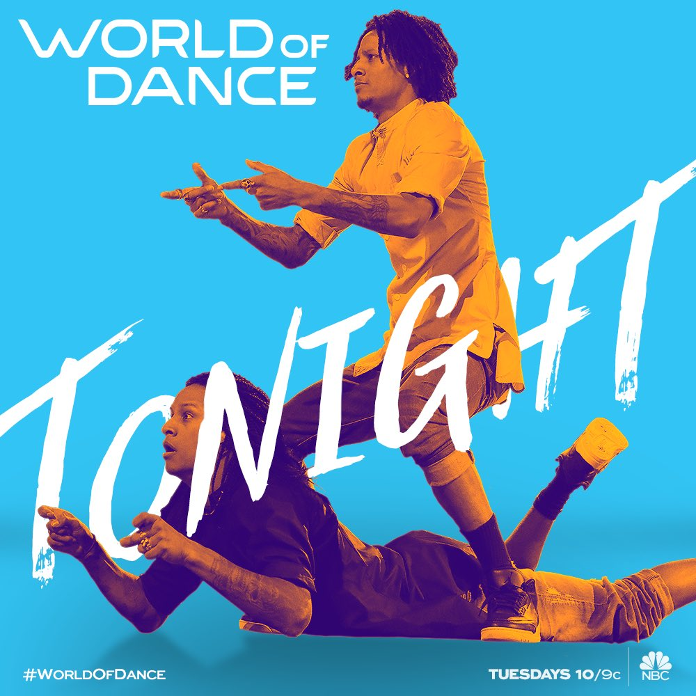 #WorldofDance continues TONIGHT at 10/9pm.... you ready? �� https://t.co/ql60F1PW3u