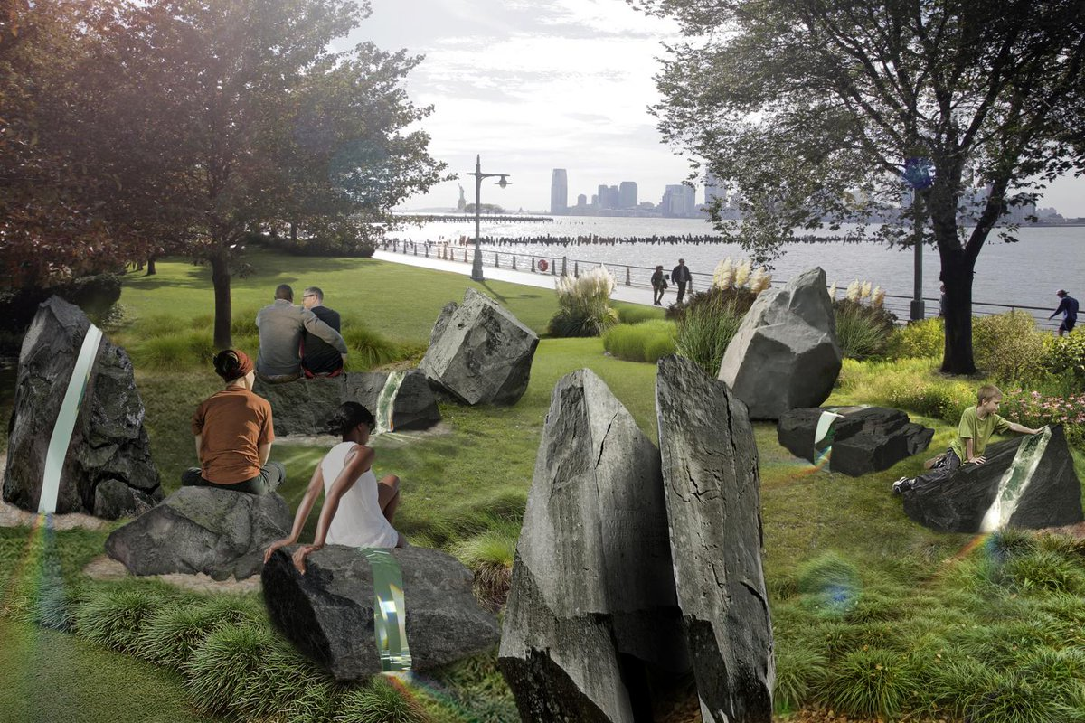 New York City's future LGBT monument literally makes rainbows