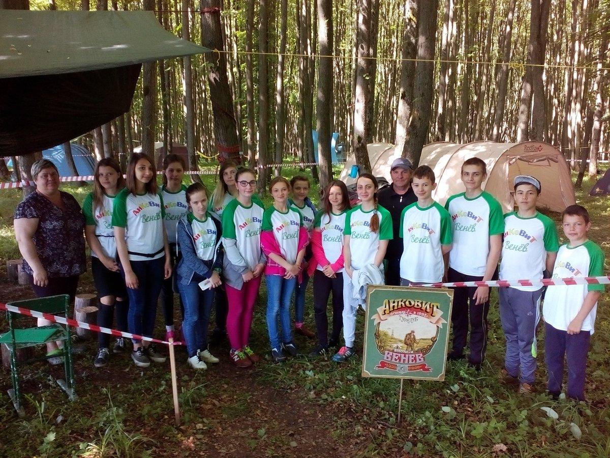 Сценарий слета юных экологов