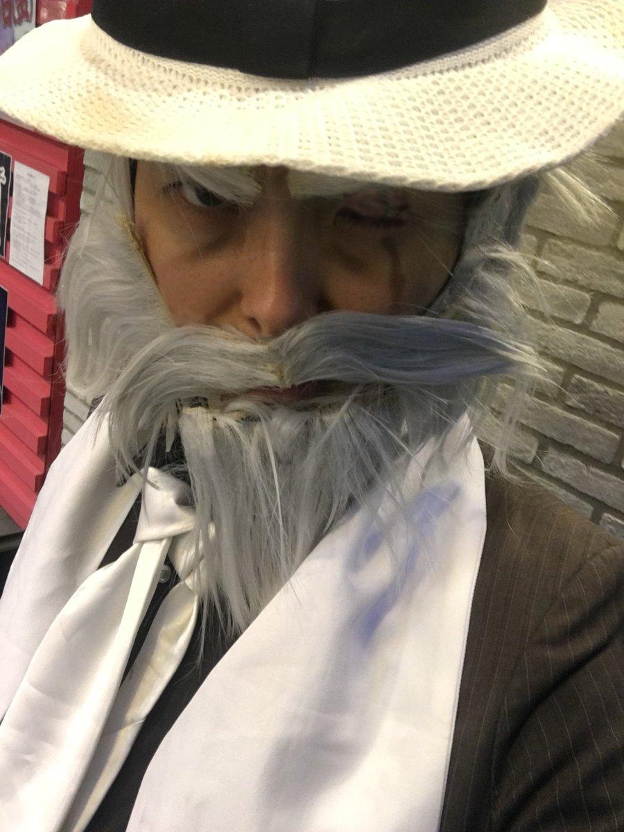 昨日は主水で居ました!久々だったのでお髭が大変なことに…>_<お店を通りがかった主水使いのお兄さん、反応あり
