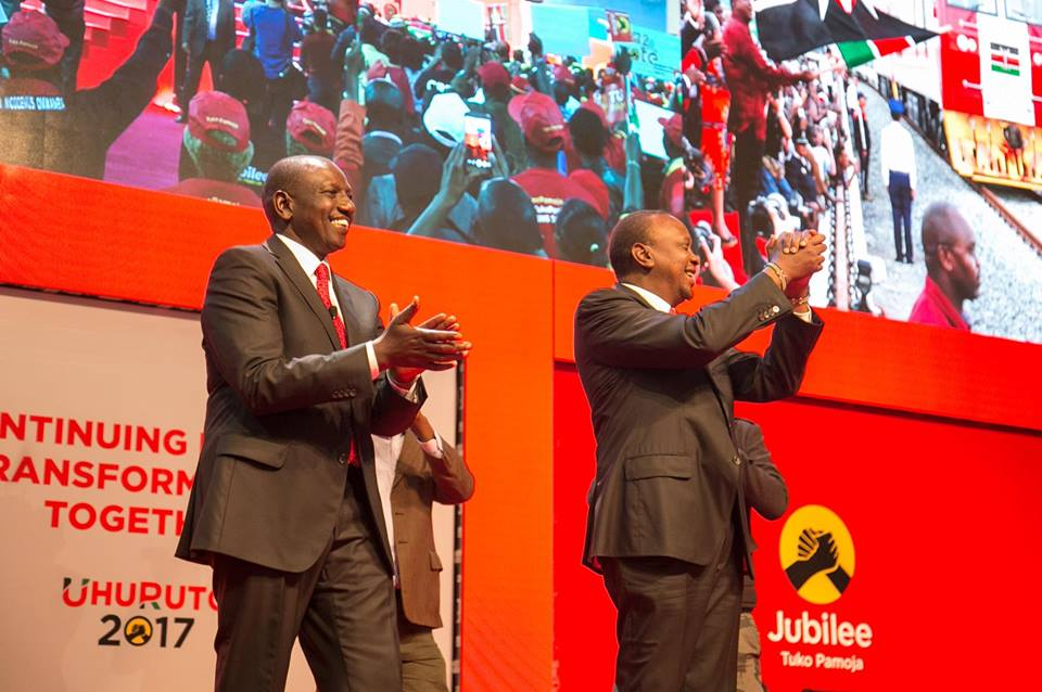 President Kenyatta, DP Ruto address rallies in Tharaka Nithi