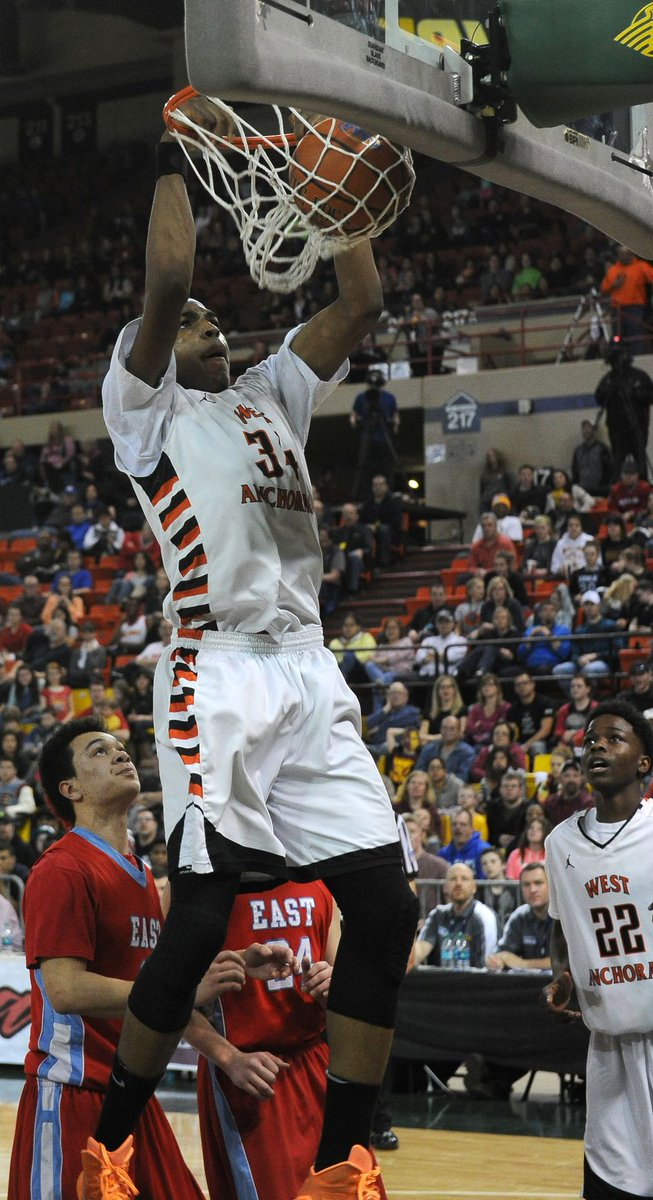 An unlikely journey lands one Anchorage player in basketball royalty