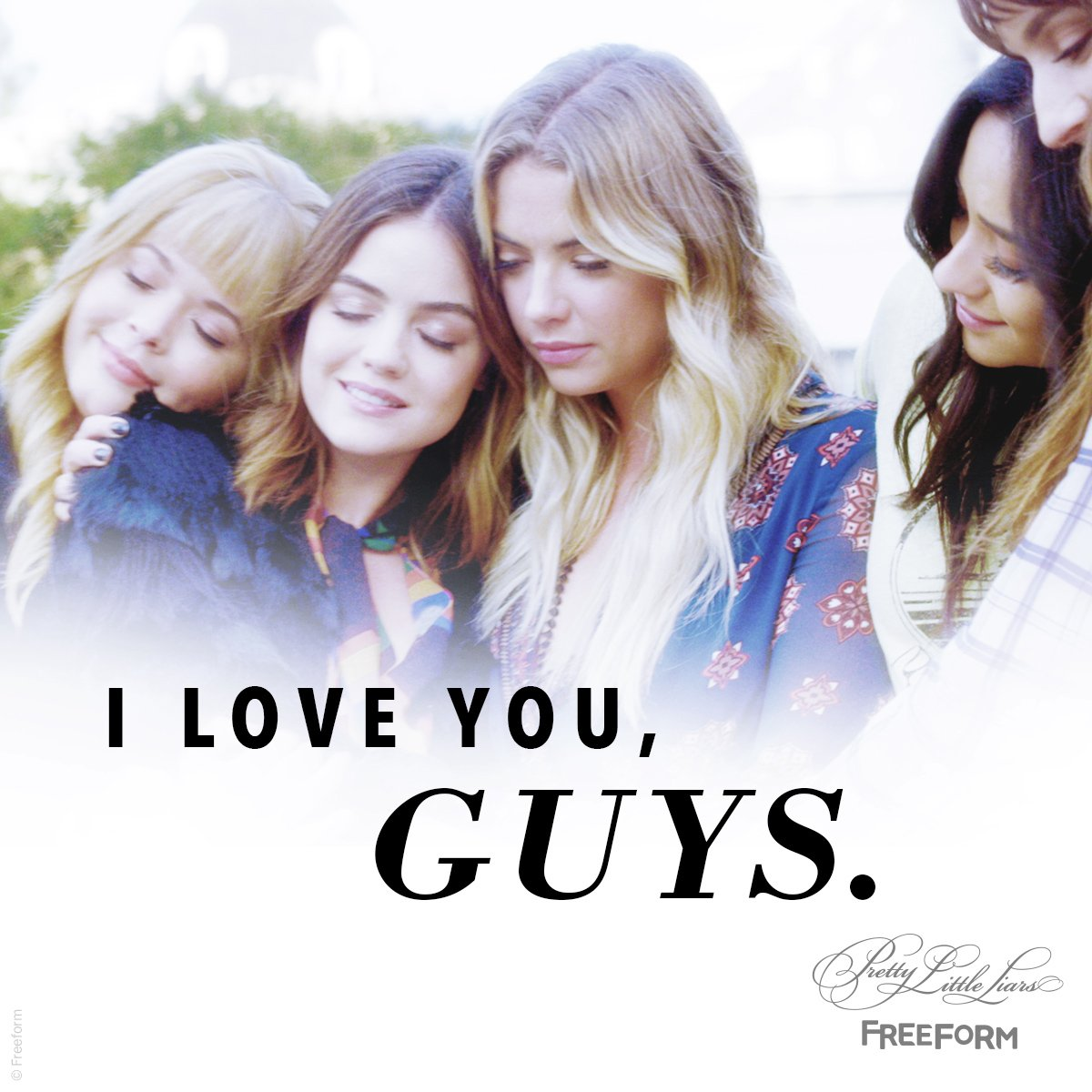 #PLL fam, tonight was for you. All of our love, always. 💖 #PLLGameOver https://t.co/MQBcPIizeB