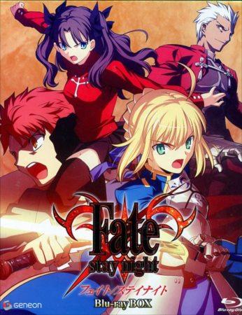 Fate/Stay night Blu-rayBOX入荷しましたー!今はアプリ人気も凄いですし10月からの劇場版に向けF