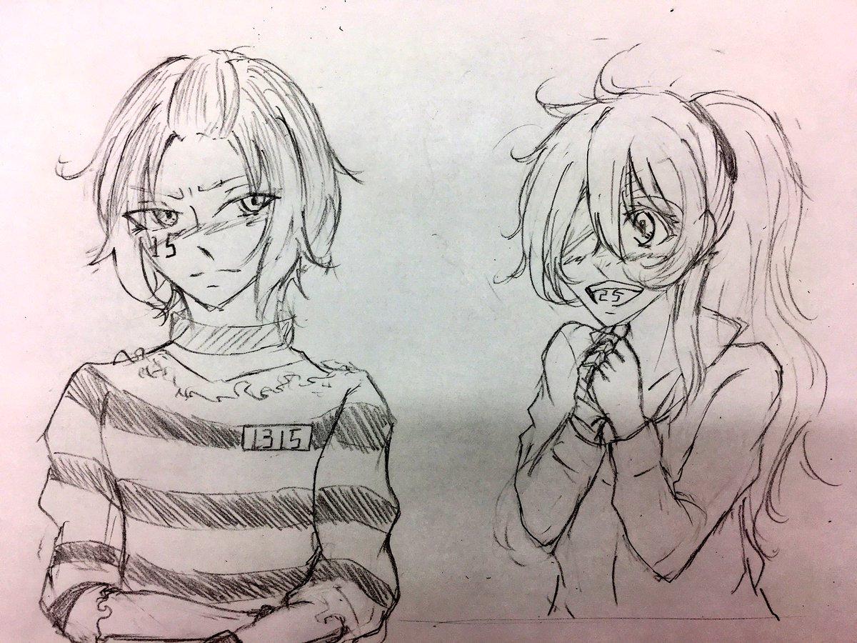#ナンバカ    【ウノが髪をいじりました】ニコ:じゅーごくん!似合ってるよ!ジュウゴ:……///////