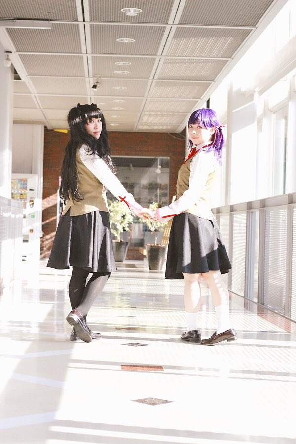 コスプレFate/stay night桜:acha( )凛:琳PCの調子悪くてDL出来なかっただけだったので桜と凛の2シ
