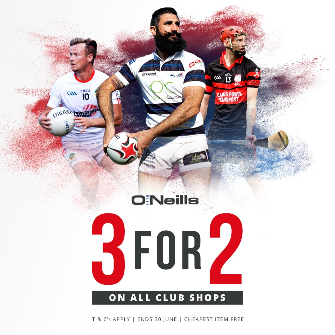 test Twitter Media - 3 or 2 on our club shop at ONeills! QUICK! Ends 30th June https://t.co/BMeXbVPAQO